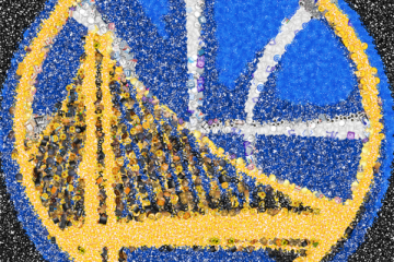 Golden State Warriors Emoji Art