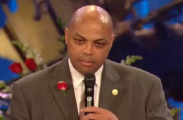 Charles Barkley Speaks at Moses Malone's Funeral