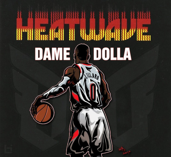 Damian Lillard Drops 'Heat Wave' From His Debut EP