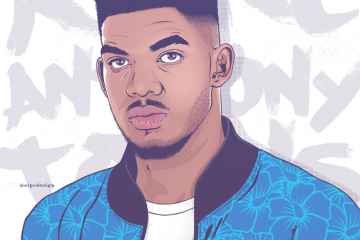 Karl-Anthony Towns 'Karlito' Portrait