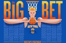 Kristaps Porzingis 'BIG BET' Illustration