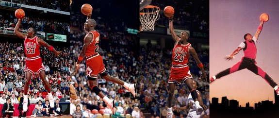 Michael Jordan Jumpman Logo In Real Life