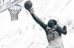 Moses Malone 'Chairman of the Boards' Sketch