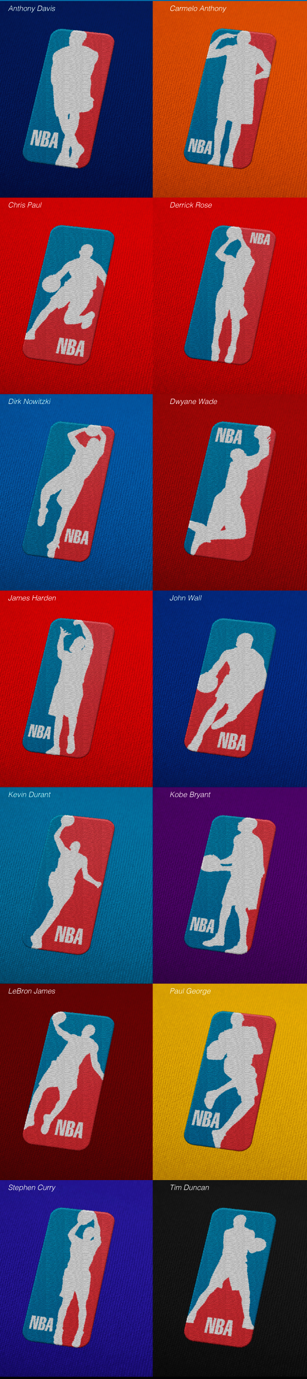 NBA Logo Redux Project