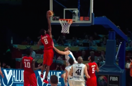 The Andrew Wiggins International Dunk Show