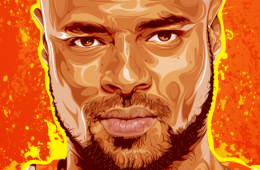 Tyson Chandler 'Passion and Fire' Portrait