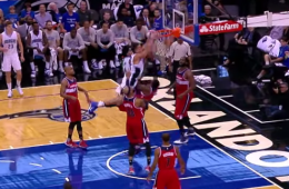 Aaron Gordon with a Mean Put Back