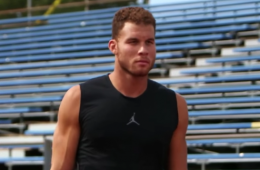 Blake Griffin Runs Track as Offseason Training