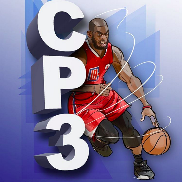 Chris Paul 'The General' Illustration