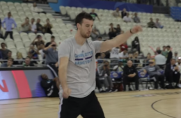 Frank Kaminsky Gets His Dance On In China