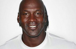 Michael Jordan Models Supreme x Air Jordan Tee