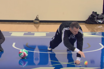 Mikhail Prokhorov Trains His Brooklyn Nets Team