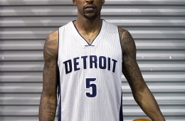 Pistons Unveil Detroit Chrome Jerseys