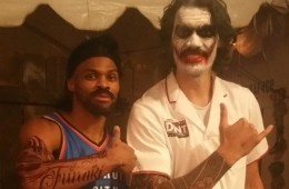 Russell Westbrook and Steven Adams for Your Halloween Entertainment
