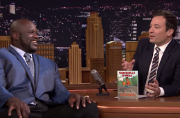 For the first time in a longtime. Big man Shaquille O'Neal was a guest on The Tonight Show Starring Jimmy Fallon