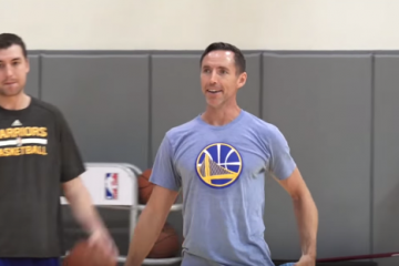 Steve Nash Works Out With Warriors