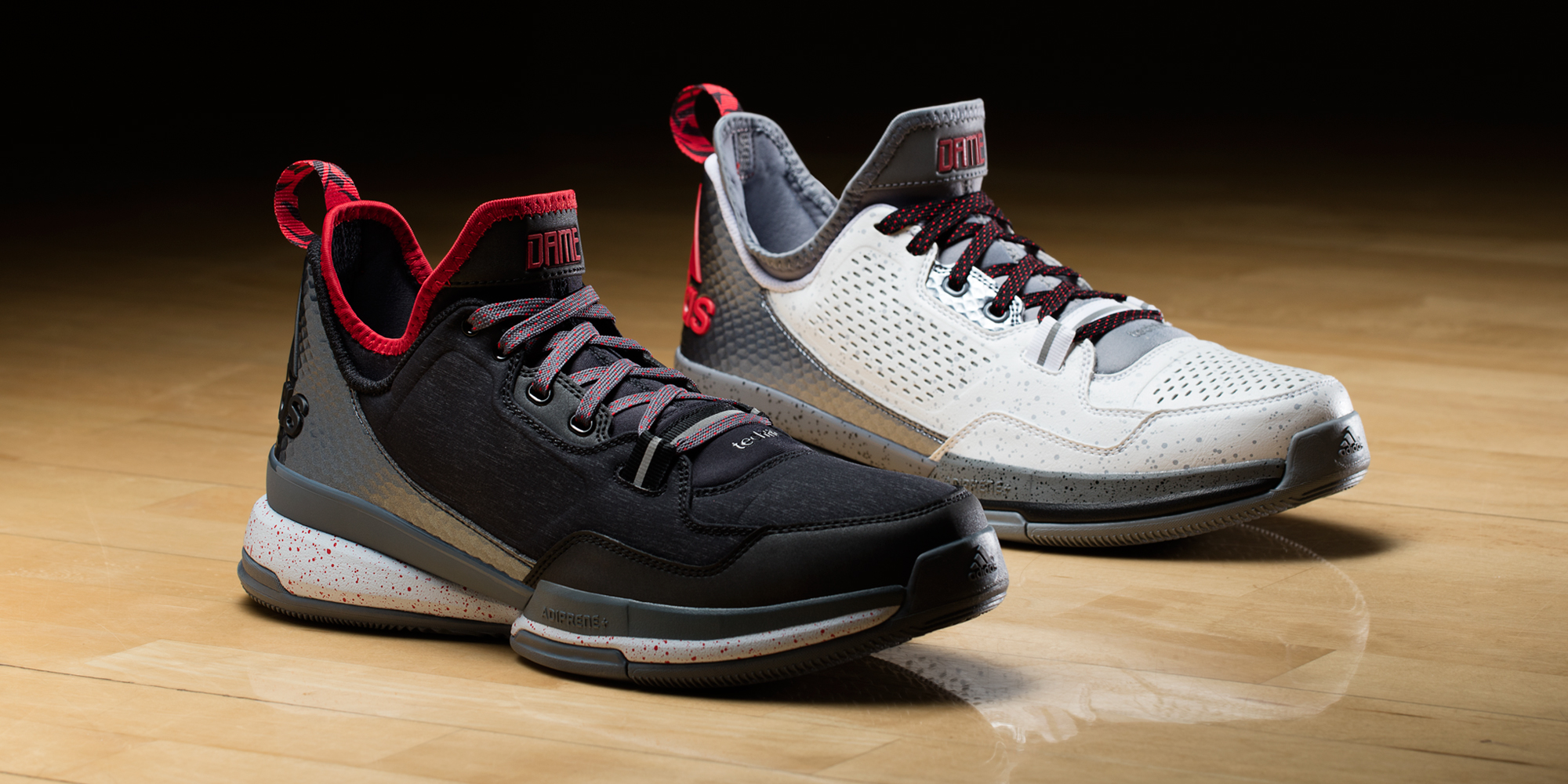 official photos d6ceb 61f8c adidas D Lillard 1 Rip City and  ...