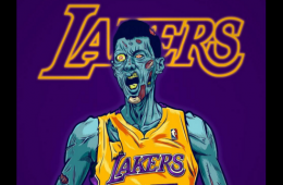 Jeremy Lin Zombie Illustration