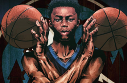 Andrew Wiggins 'Rising Wolf' Illustration