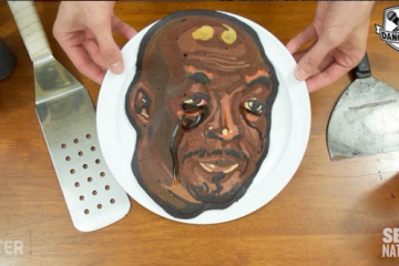 A Crying Michael Jordan Pancake