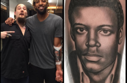 Derrick Williams Got a Giant Forearm Tattoo