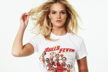 Erin Heatherton Expresses Her Love for the Chicago Bulls
