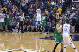 Jae Crowder Nails a Crazy Full Court Shot