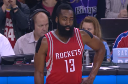 James Harden Scores 43 on Kings