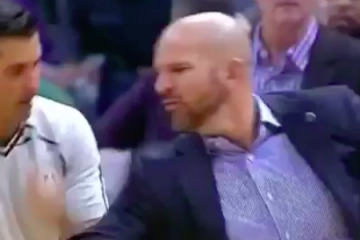 Jason Kidd Gets Tossed For Slapping Ball In Refs Hand