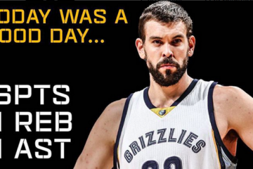 Marc Gasol Gets First Career Triple Double