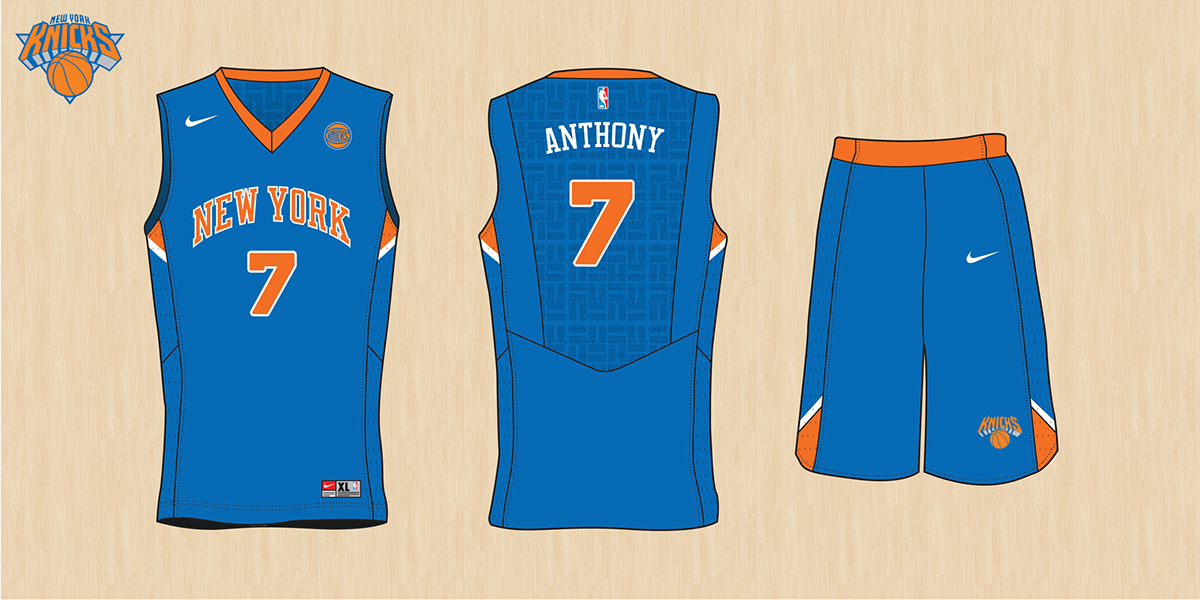NBA Nike Uniform Concepts