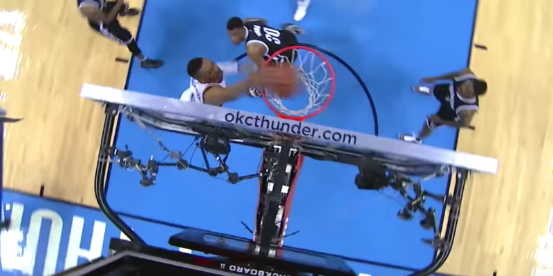 Russell Westbrook with a Trio of Hammer Dunks