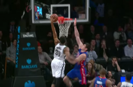 Thaddeus Young Dunks On Ersan Ilyasova