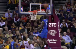 Victor Oladipo and Aaron Gordon Put On an Aerial Show In Cleveland