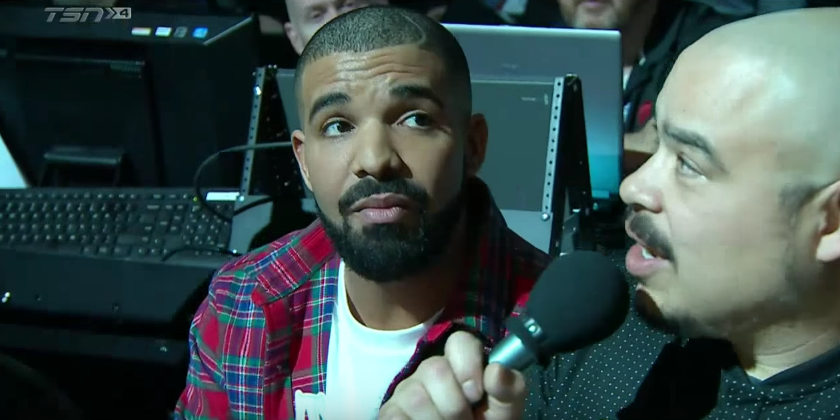 Watch Drake Introduce the Raptors on Drake Night