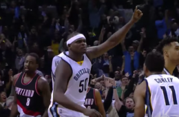 Zach Randolph Game-Winner Sinks Portland