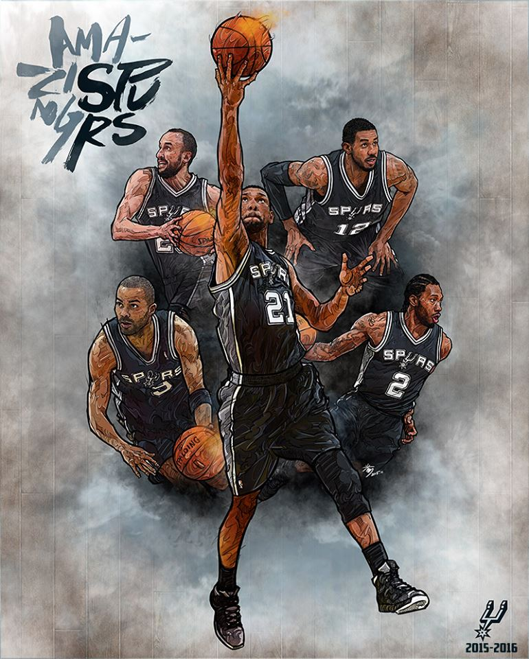 Amazing Spurs Illustration