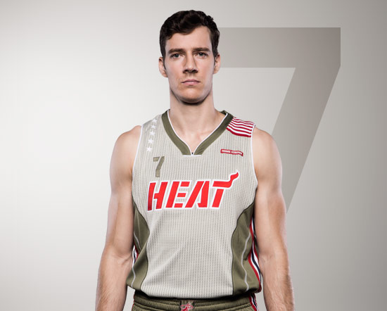Miami Heat Debut Home Strong Uniforms