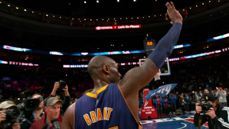 Kobe Bryant Plays His Last Game In Philly