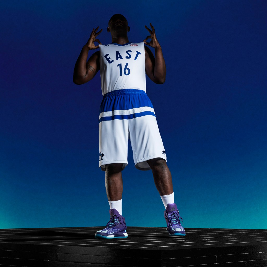 adidas Celebrates Toronto with 2016 NBA All-Star Uniforms