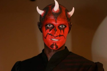 Andrei Kirilenko x Darth Maul Star Wars Costume