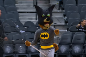 Batman Takes Out a Bat In San Antonio