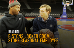 Brad Hall: Detroit Pistons Store Seasonal Employee
