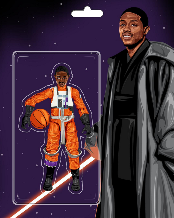 Brandon Knight Jedi Illustration