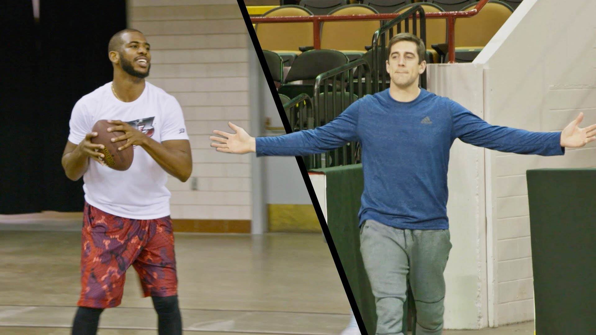 Chris Paul x Aaron Rodgers x Dude Perfect
