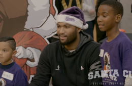 DeMarcus Cousins aka Santa Cuz Takes 200 Kids Shopping
