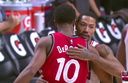 Derrick Rose Scores 20 Points, Bulls Beat Raptors