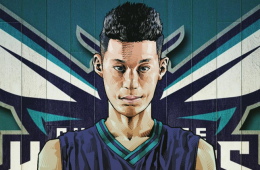 Jeremy Lin Buzz City Illustration