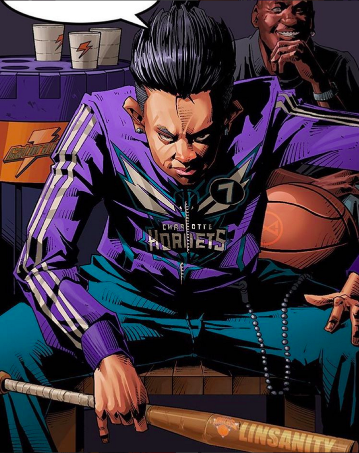Jeremy Lin Revenge of Linsanity Illustration