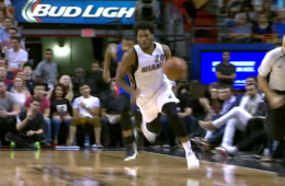 Justise Winslow Dunks All Over Ersan Ilyasova